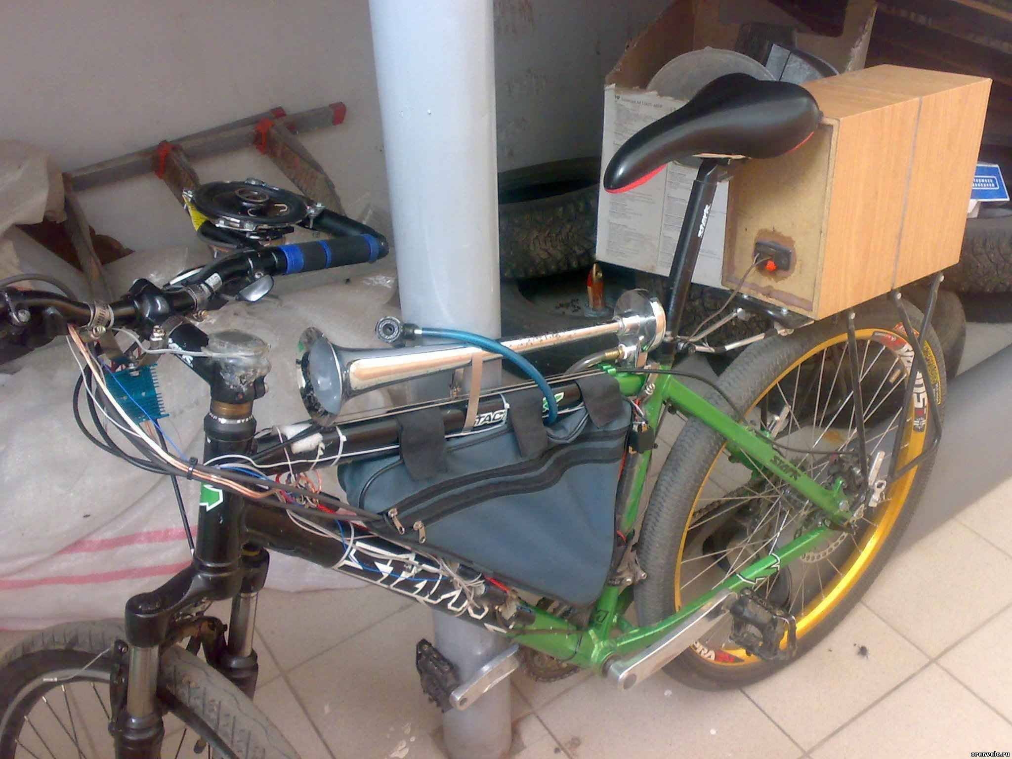 Стоп-сигнал для велосипеда (покупной и изготовленный) 29